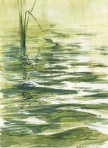 「翠の水紋」F4号