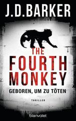 Cover des Buches The fourth Monkey von J.D. Barker.
