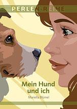 Auf dem Cover befindet sich ein Hund und sein Frauchen.