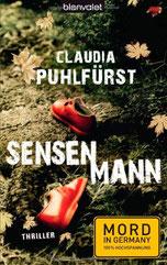 Cover des Buches Sensenmann von Claudia Puhlfürst.