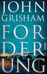 Cover des Buches Forderung von John Grisham.
