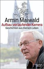 Auf dem Cover sieht man den Autor Armin Maiwald.
