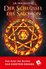 Cover des Buches Der Schlüssel des Salomons von J. R. Dos Santos.