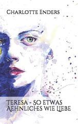 Das Cover zeigt das gemalte Gesicht einer jungen Frau.