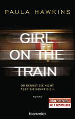 Cover des Buches Girl on the Train von Paula Hawkins.