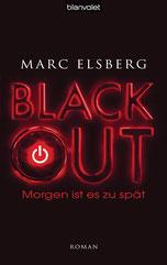 Cover des Buches Black Out von Marc Elsberg.