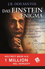 Cover des Buches Das Einstein Enigma von J.R. Dos Santos.