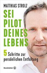 Auf dem Buchcover befindet sich ein Porträt von Matthias Strolz.