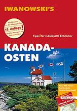 Cover des Reiseführers Kanada Osten von Iwanowski.