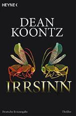 Cover des Buches Irrsinn von Dean Koontz.