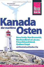 Cover des Reiseführers Kanada der maritime Osten von Reise Know How.