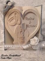 Hochzeitsbuch gefaltet, 15-16 Arbeitsstunden