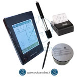 Durometro a rimbalzo per metalli con schermo touchscreen modello VLDR550