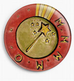Badge du 4MO le Mouvement de Maintien du Merveilleux en Milieu Ordinaire fondé par Nac' de La Rafistolerie