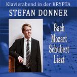 Bach-Mozart-Schubert-Liszt  in der KRYPTA