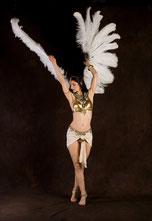 Pharaonischer Tanz von Nelly Farouche, Photo: Uwe Hellwig