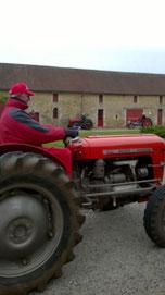 Tracteurs rétro Nord Charente  - Château de Saveilles - Saveille - Visite de château groupe - Visite château en famille