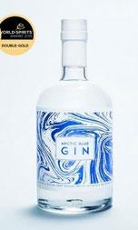 Finnische Gin, Heidelbeer Gin. Arctic Blue Gin