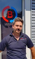 Romeo Studer, Servicetechniker