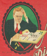 Seltene Titelfigur Ende der 1930er Jahre
