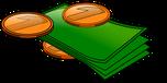 Grafik für Geld