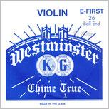 Cordes Mi WESTMINSTER Violon 4/4