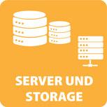 Netzwerk Server und Storage