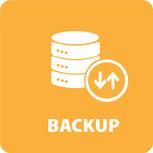 Service und Wartung Backup