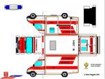 Notarzt Rettungswagen der FF