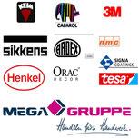 Farben nach Hersteller Logo