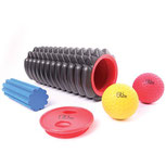Trigger Point Massage Roller Kit, rumble roller, foam roller, for fitness, exercise, self-massage and stretching