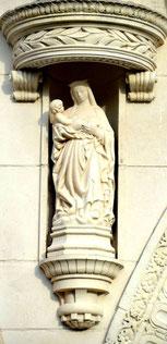 La Vierge de la maison du Sagittaire