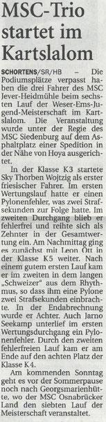 Nordwest-Zeitung 16.06.17