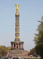 Die Siegessäule in Berlin. Foto: Helga Karl