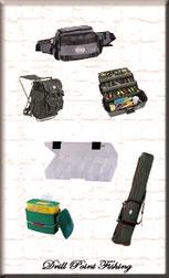 Aufbewahrung & Transport Angelruten und Zubehör-Taschen
