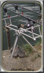 Rod Pod Rutenhalter für Grundangelruten, Rutenständer , Karpfenfischen