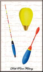 Drill Point Fishing Onlineshop Unterkategorie Angelposen, Angebot Waggler und Stehauf-Angelposen, vorbebleite Angelposen