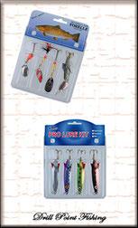 Drill Point Fishing Onlineshop Produktangebote Spinner-& Blinker Set