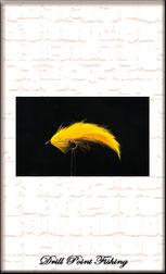 Streamer zum Fliegenfischen auf Raubfische wie Hechte Zander Barsch Forelle