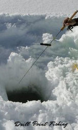 Eisfischer-Ruten