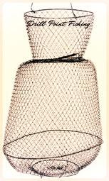 Reussen und Senknetz zum Angeln