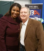 Letitia James, Boris Borukaev