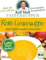 Original Suppenfasten nach Moll mit  mit Rote Linsen Suppe