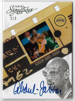 KAREEM ABDUL-JABBAR / Green Version - No. 123  (#d 2/3)
