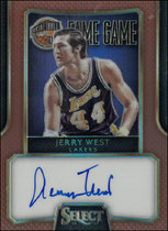 JERRY WEST / Fame Game - No. FG-JW  (#d 48/49)
