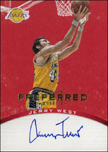 JERRY WEST / Preferred Signatures - No. 161  (#d 7/25)