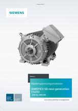 SIMOTICS Motors SD next generation (1LE5) 250 bis 500 kW Katalog Add-on D 81.1 AO © Siemens AG 2020, Alle Rechte vorbehalten