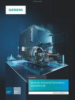 SIEMENS - Modular Industrial Generators - SIGENTICS M - Catalog D 85.1 - Edition 2018 © Siemens AG 2019, All rights reserved