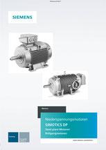 Niederspannungsmotoren SIMOTICS DP Steel plant Motoren Rollgangmotoren Katalog © Siemens AG 2019, Alle Rechte vorbehalten
