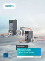 SIEMENS - SINAMICS S210 Servo Drive System - Catalog D 32 - Edition April 2019 Siemens AG 2020, All rights reserved